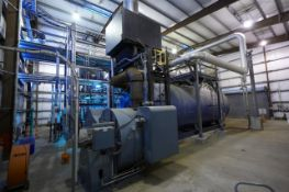 Firetube Boiler, Superior Boiler and Economizer 2200HP (73,645 MBTU) steam OUT, Lo NOx natural gas