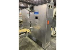 """Control Panel, Stainless Steel Double Door, 8"""" Wide,Rigging/Loading Fee $50"""