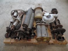Refacciones de maquina para tortillas; engranes; flecha con engranes para tracción de la cadena