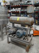 Compresor de burbuja marca suturbilt, con motor eléctrico de 20 kw y 1755 rpm. (Bubble compressor,