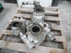 3 Bombas hidráulicas marca vicker (3 hidraulic pumps, vickers brand)