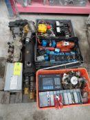 Lote de electroválvulas marca Vickers, 110 V 50 hgz, 120 V 50 hgz; 2 arrancadores marca Square D