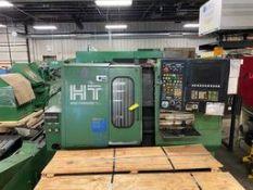 Hitachi Seki CNC Lathe, Model #HITEC-TURN 20SII, S/N #HT21352, Comes W/ Chip Conveyor & Bar Feeder