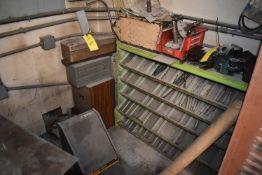 Steel Shelf Unit Includes Assorted Drills