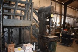 Buffalo Geared Head, Drill Press, Production Table, SN 53-6228