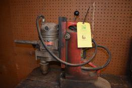 Milwaukee Catalog #4221 Magnetic Base Drill