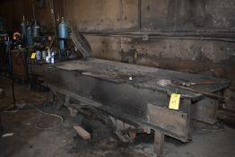 "Welding Table, 10' x 42"" Wide"