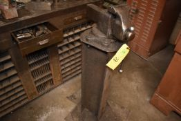 Shop Vise Mounted on Stand