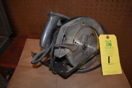"Craftsman Catalog #5210 Electric Hand Saw, 7"" Blade"