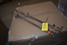 """Qty. (2) Wood Clamps, 36"""" Length"""