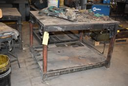 "Welding/Set Up Table, 42"" x 48"""