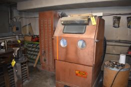 Zero Model #BNP65-1 Blast-N-Peen Abrasive Finishing Machine, SN 35043, Includes Dust Collection