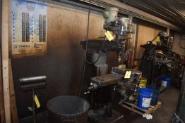 Bridgeport Variable Speed Vertical Mill, Power Feed Table, SN 12/BR170698
