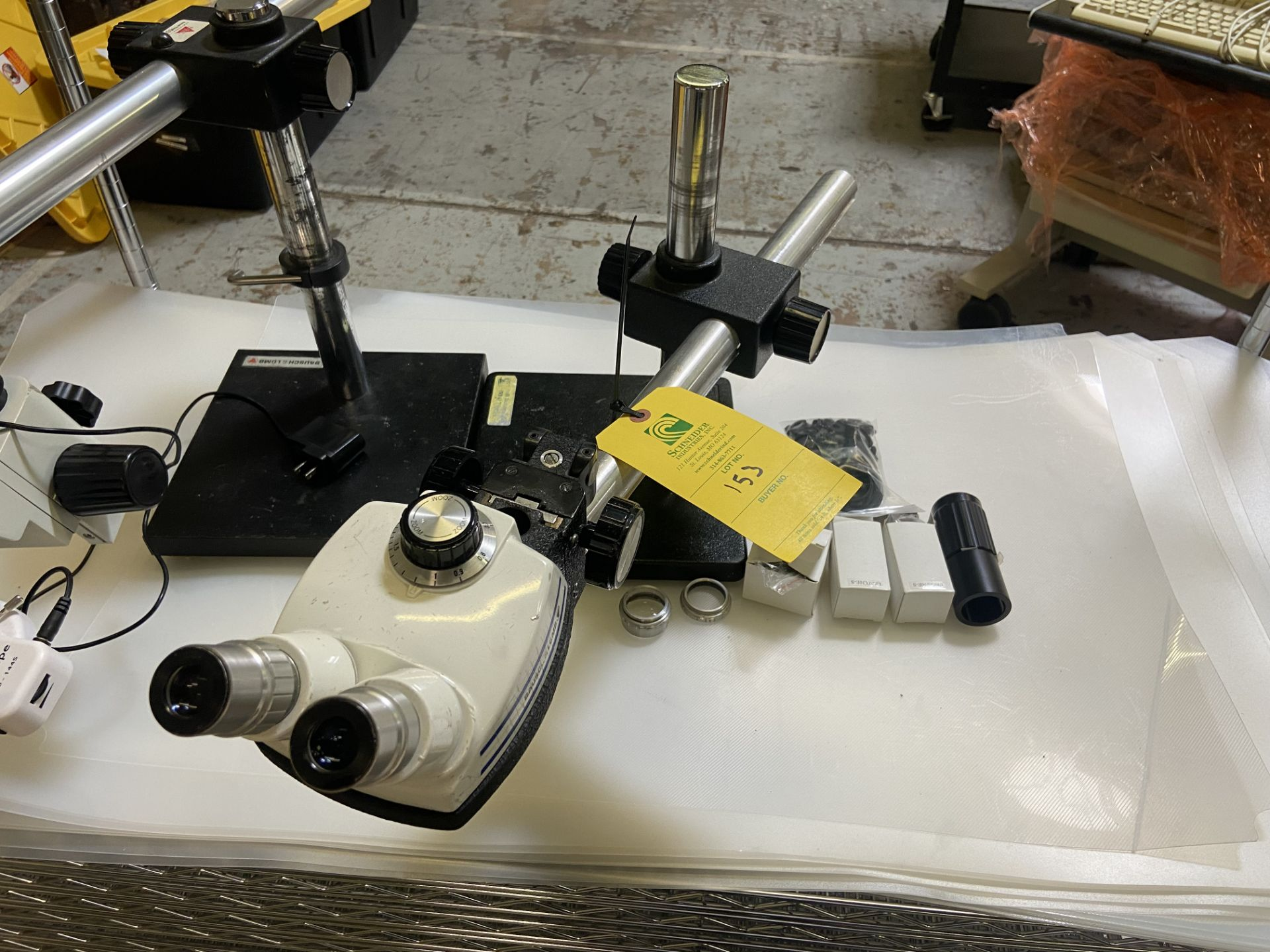 Microscope StereoZoom 4, 0.7X - 30X, Rigging Fee: $20 - Image 2 of 5