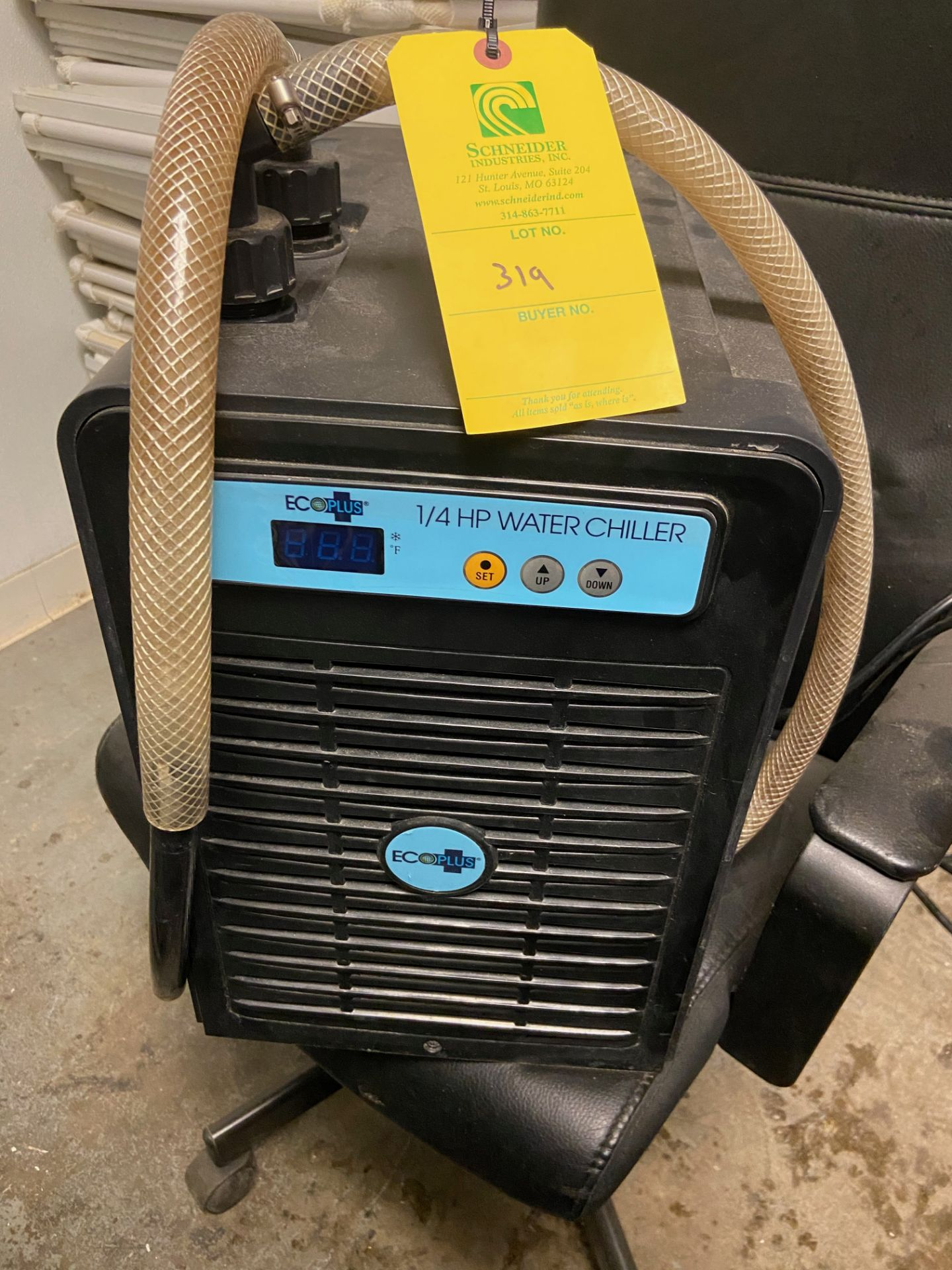 ECO Plus 1/4 HP Water Chiller with Reservoir, 110-120V, 60Hz - Image 2 of 5