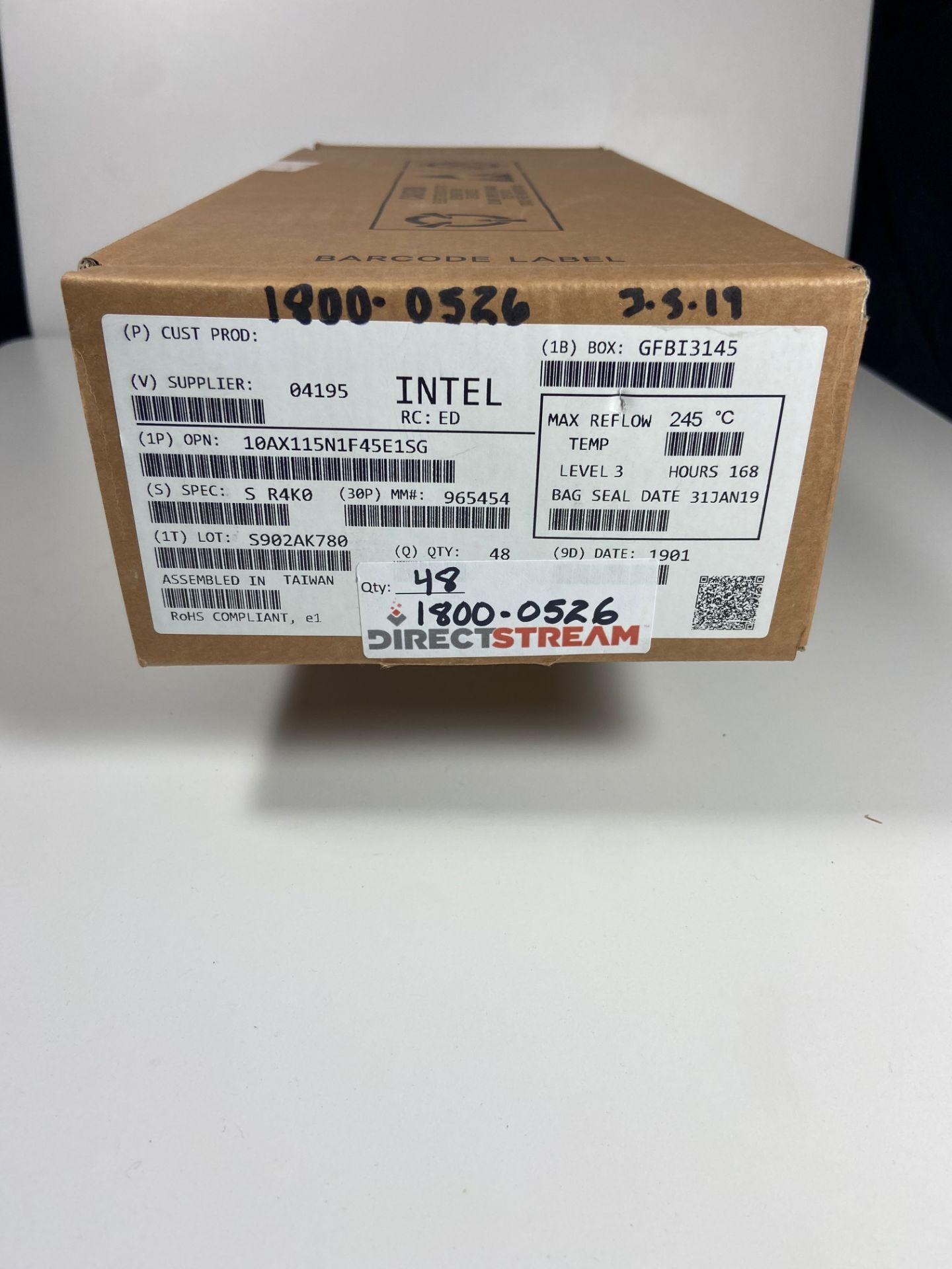 Intel 10AX115N1F45E1SG, QTY 48, FPGA Arria 10 GX Family 1150000 Cells 20nm Technology 0. - Image 3 of 4