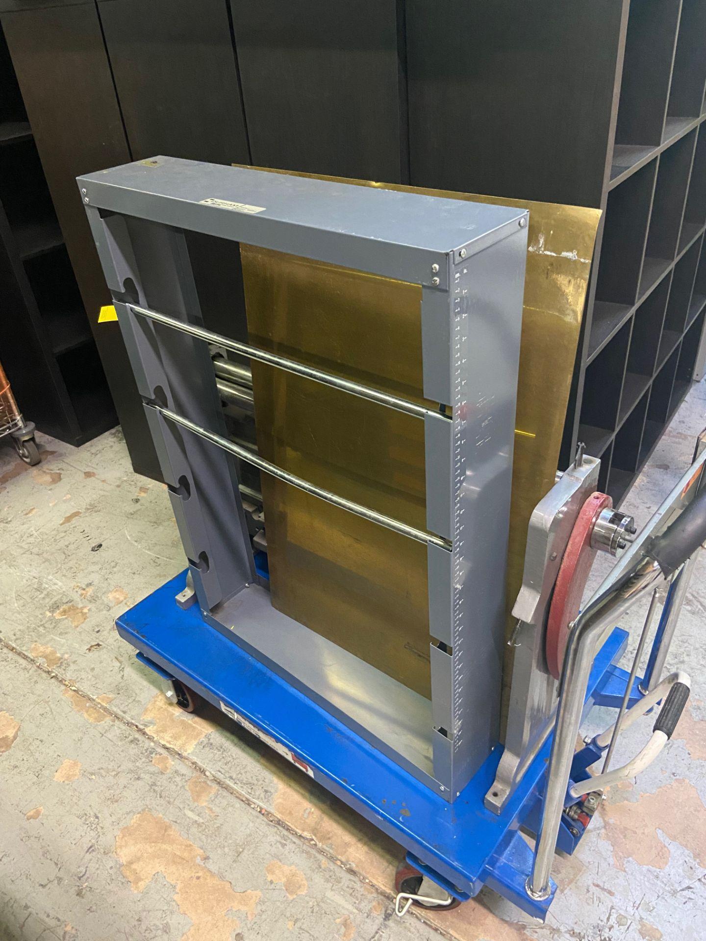 Durham Sheet Metal Brake/Bender, Model# WSR-4, Loading/Removal Fee: $20 - Image 2 of 5