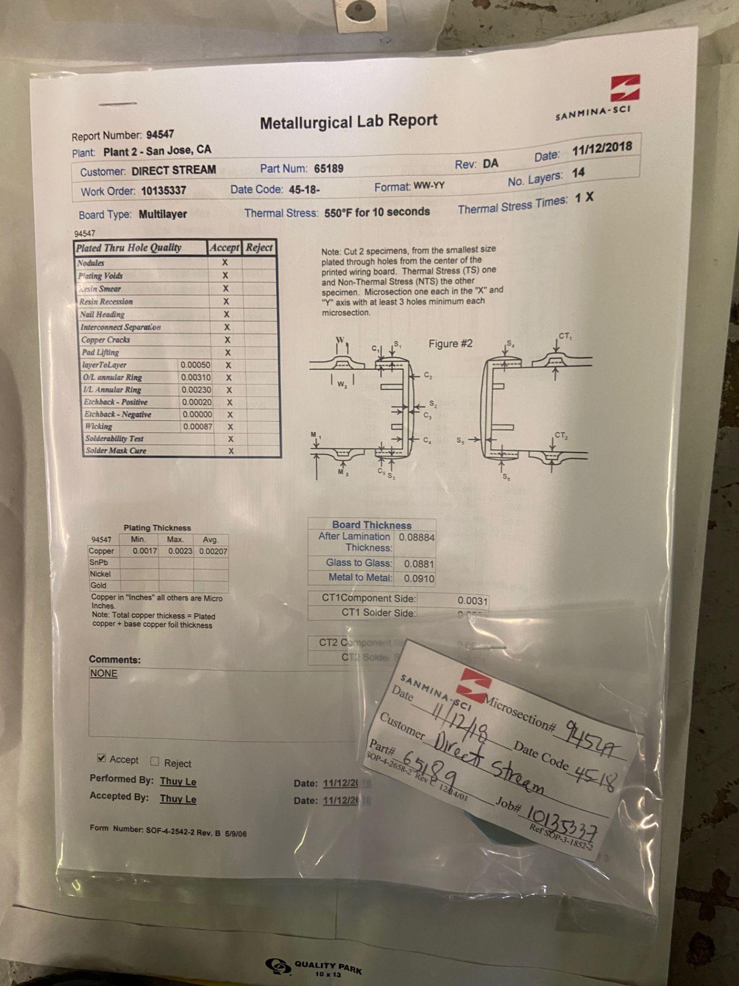 PCB, 1U Hi-Bar 2 Switch, QTY 14 - Image 3 of 4