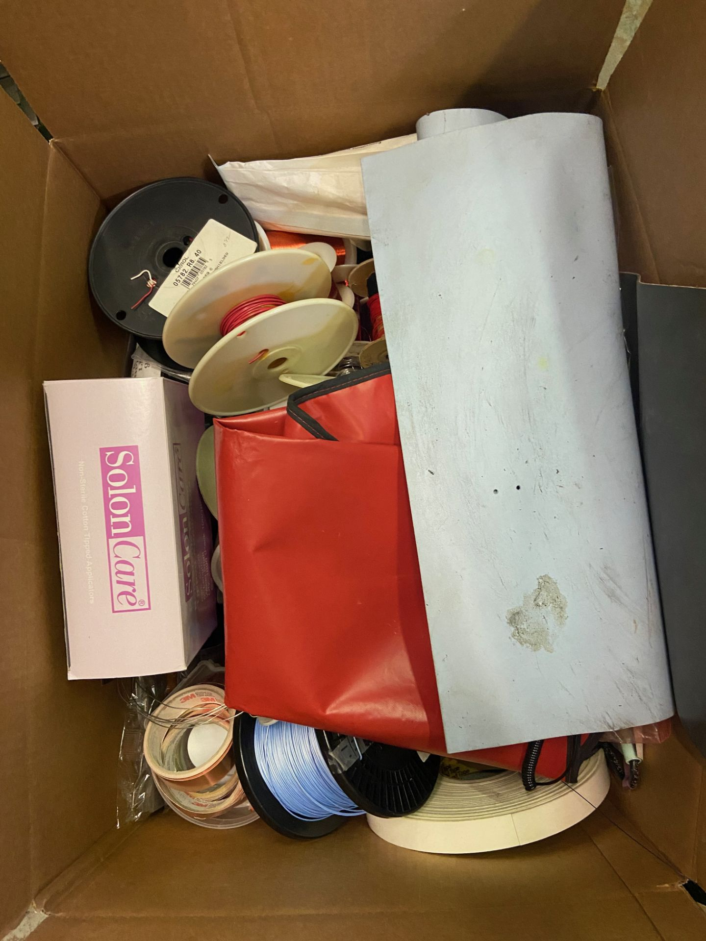 Qty 2 Boxes of Miscellaneous Soldering Lab Desk Items, Including: (SEE PHOTOS FOR ALL INCLUDED), - Image 3 of 12