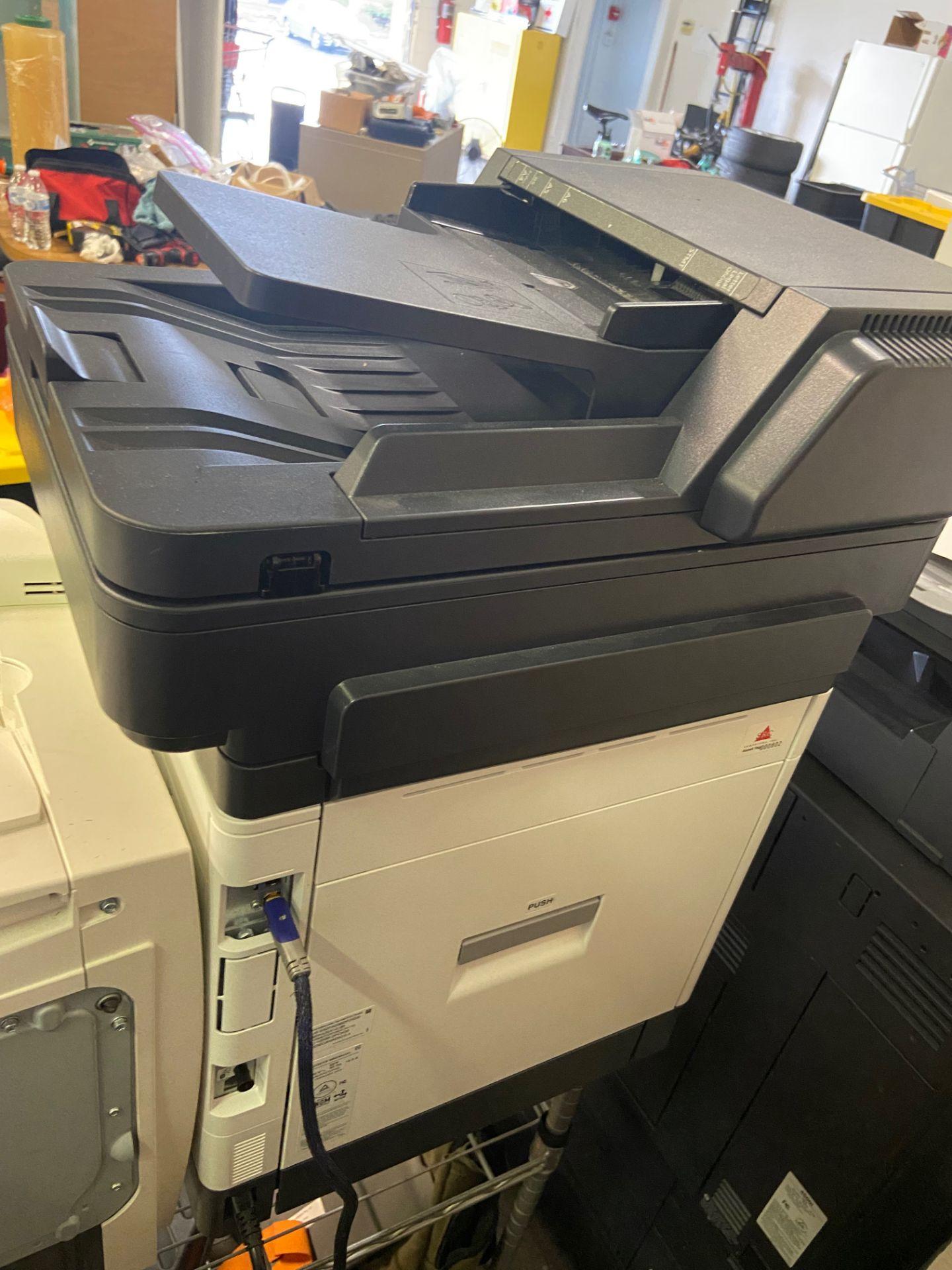 Kyocera Ecosys Printer, Model# M6535cidn, 120V, 60 Hz, Loading/Removal Fee: $20 - Image 4 of 6