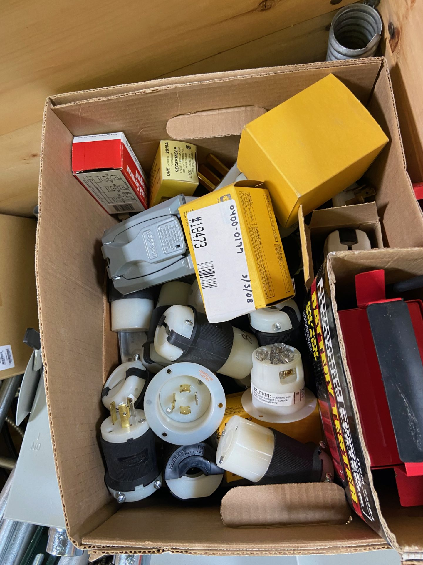 Pallet of Electrical Components, Includes: (SEE PHOTOS FOR ALL INCLUDED) Eaton Heavy Duty Safety - Image 10 of 19