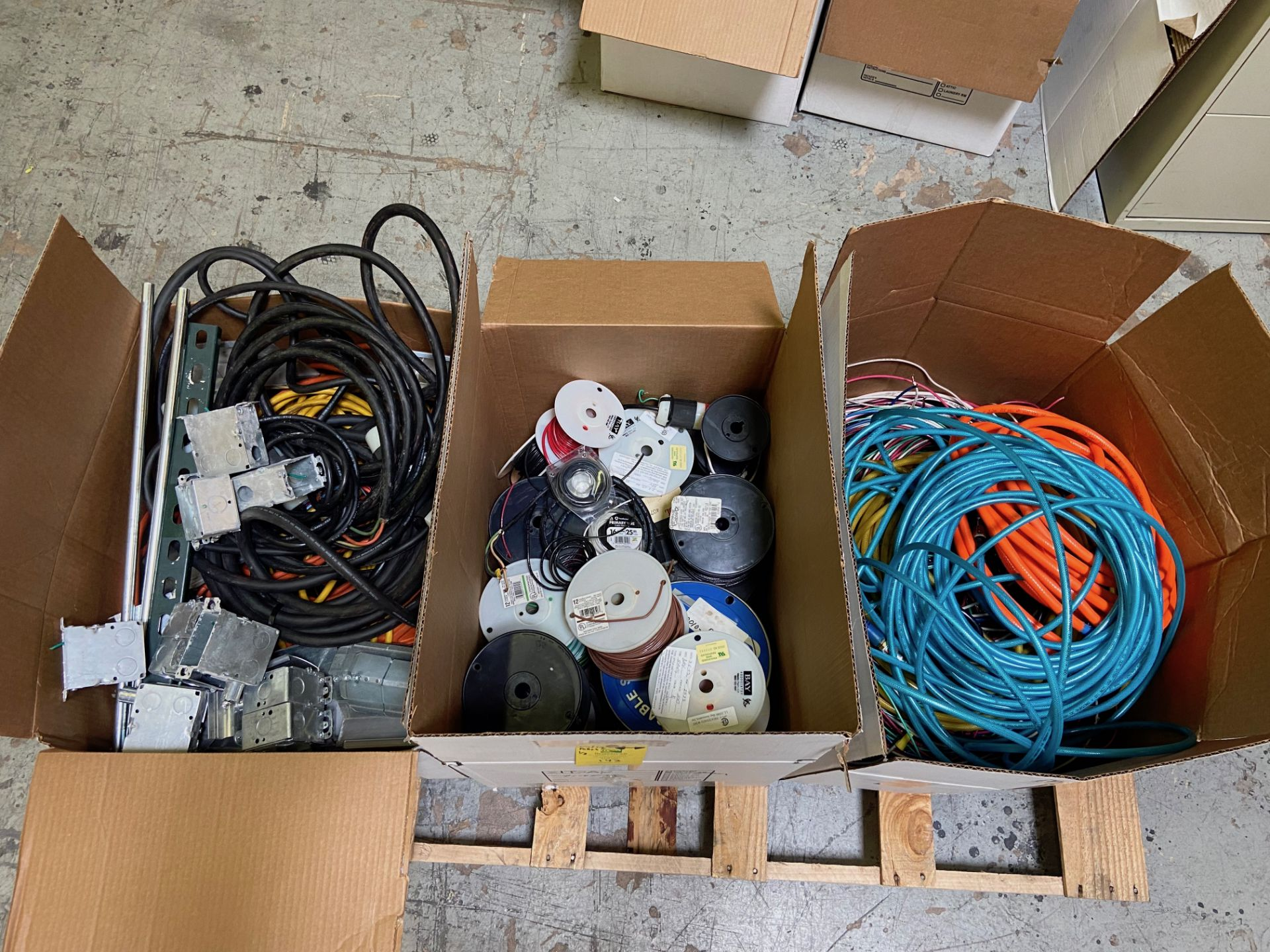 Miscellaneous Electrical/ Cable, Air House (All Pictured), Rigging Fee: $25