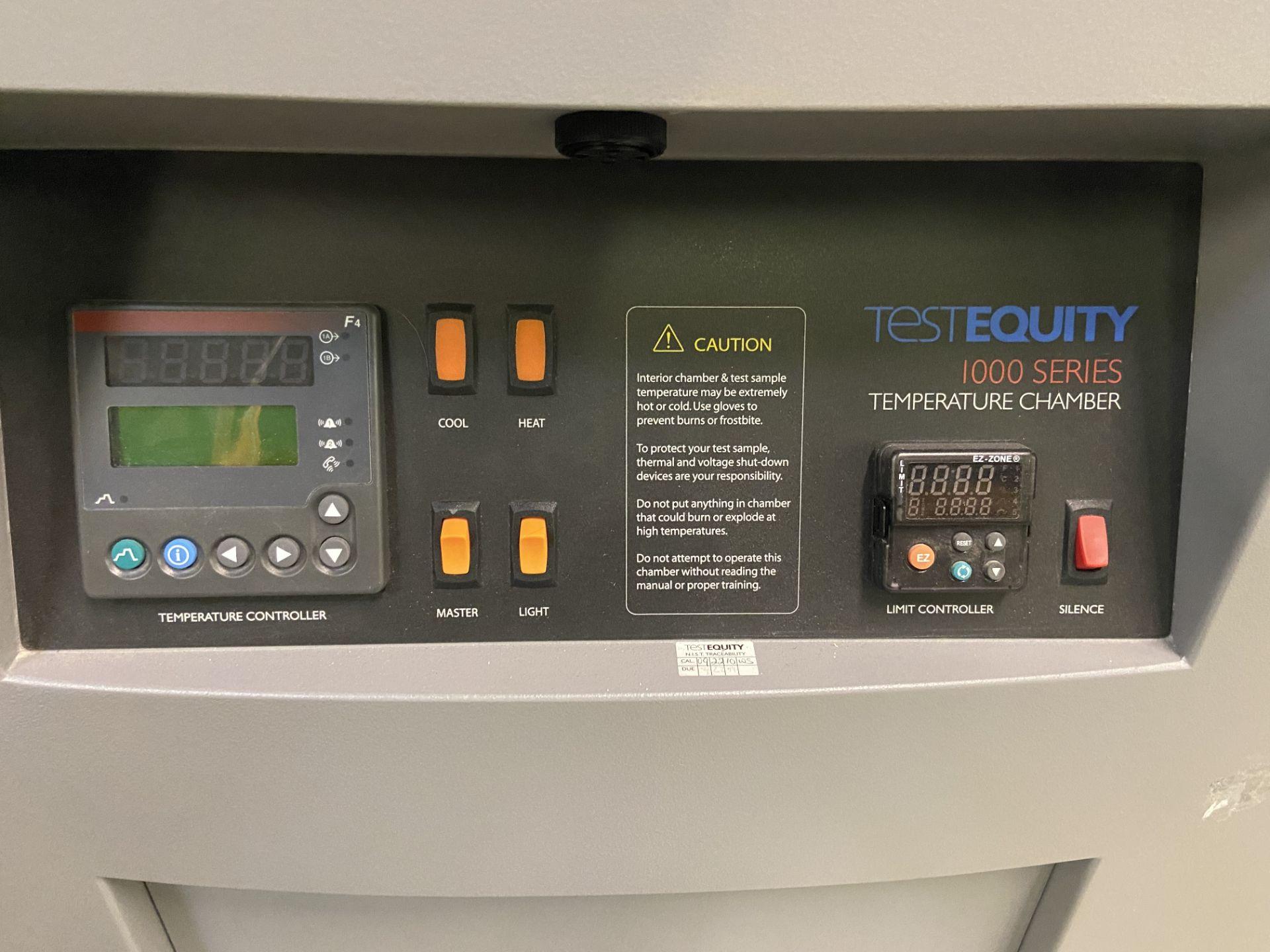 TestEquity Temperature Chamber, Model# 1007C, Serial# 10940, Temp Range: -75C to +175C, 208V, Single - Image 3 of 12