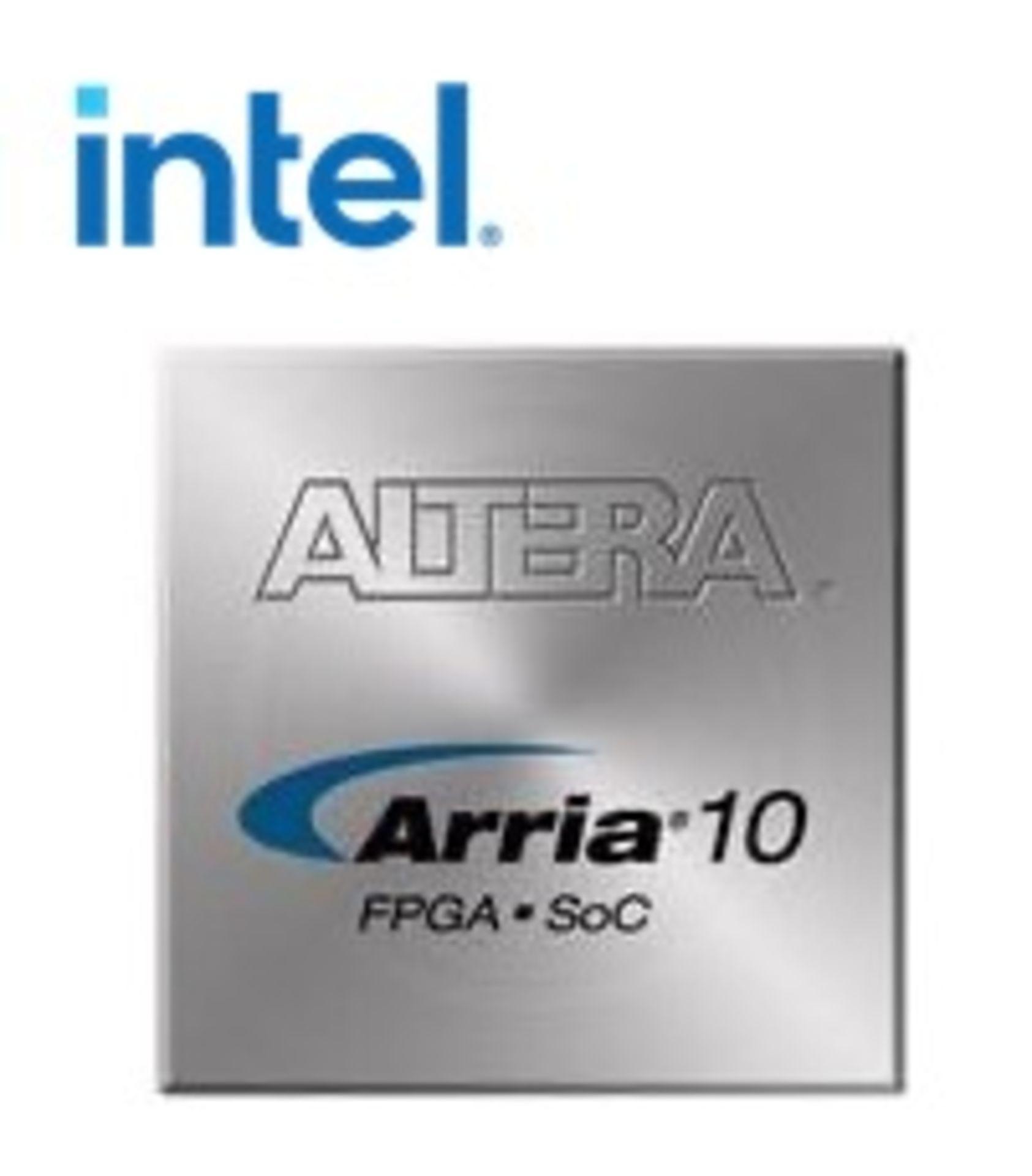 Intel 10AX066H3F34E2SG, QTY 72, FPGA Arria 10 GX Family 660000 Cells 20nm Technology 0.9V