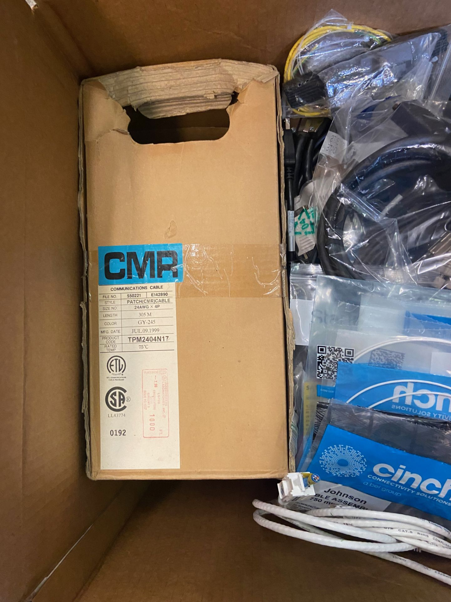 Box of Miscellaneous Computer Electronics Components, Includes: Adaptec SCSI Card 39160; - Image 3 of 9