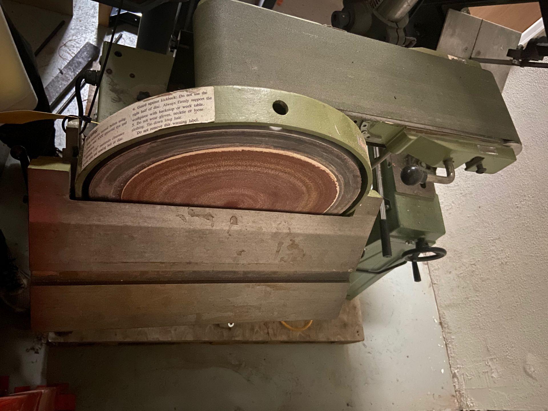 Belt and Disc Sander, Loading/Removal Fee: $25 - Image 4 of 5
