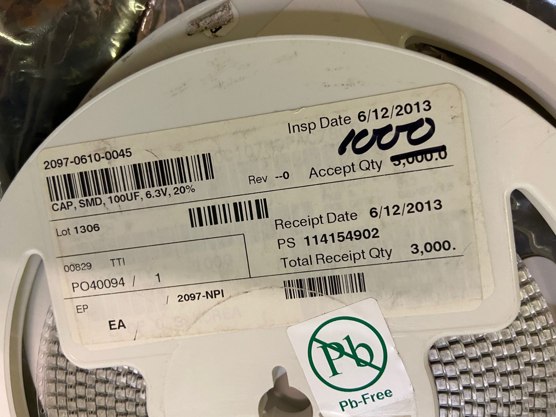 KEMET Corporation C1210C107M9PACTU Capacitor Ceramic Multilayer, Cap Ceramic 100uF 6.3V X5R 20% - Image 4 of 7
