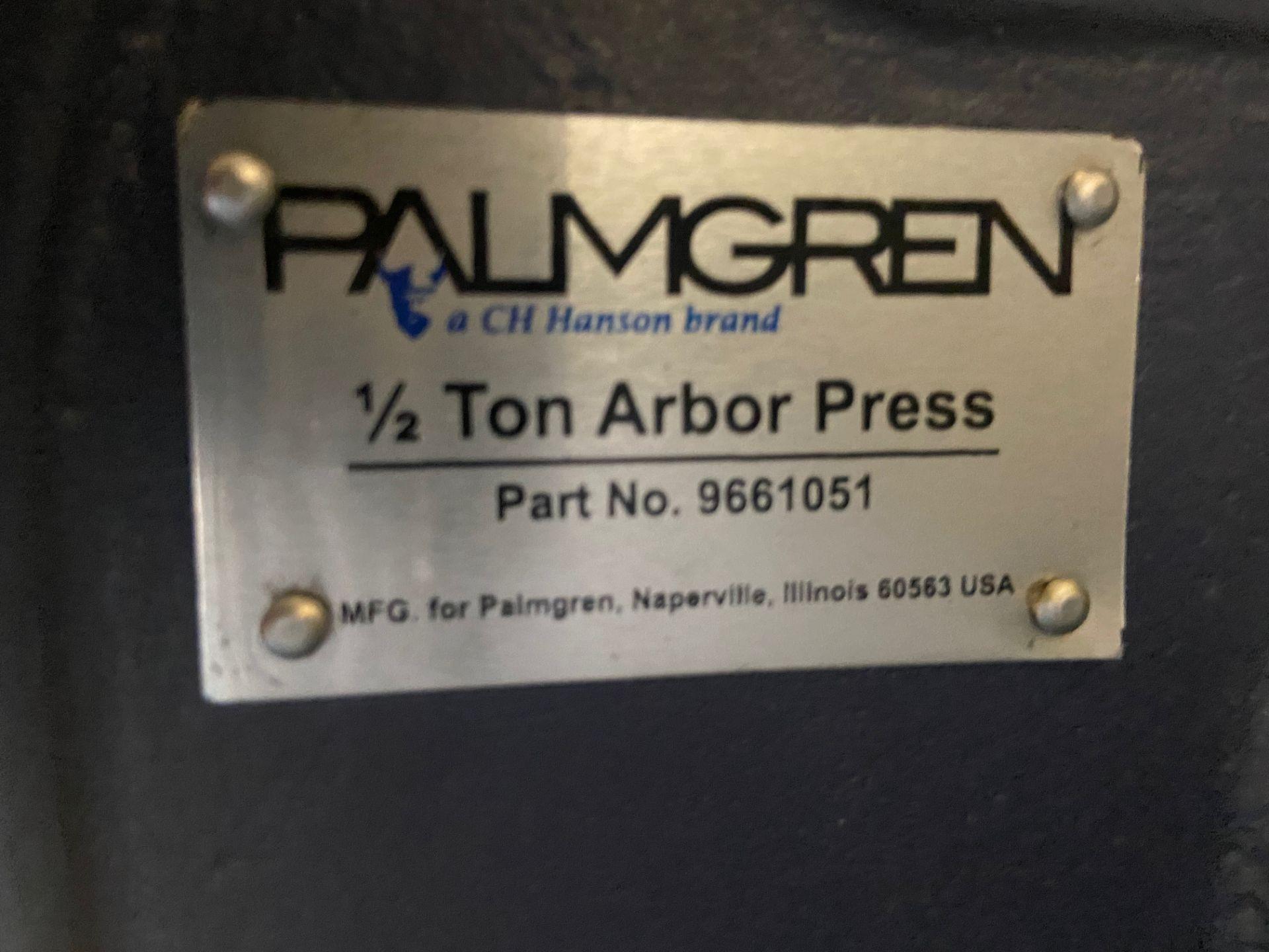 Palmgren 1/2 Ton Arbor Press, Rigging Fee: $20 - Image 3 of 5
