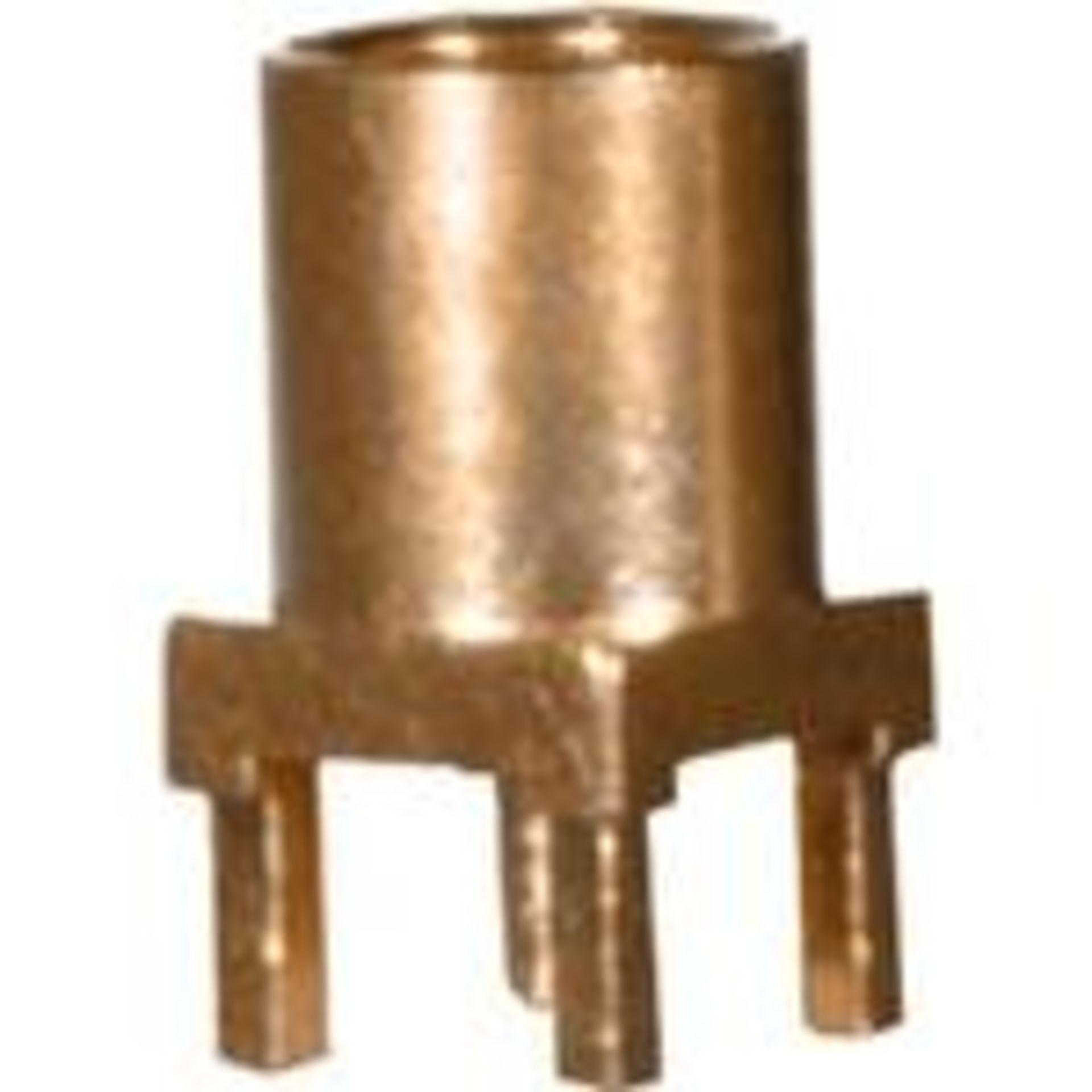 Cinch Connectivity Solutions 135-3701-201 Connector RF, Conn MMCX 0Hz to 6GHz 50 Ohm Solder ST