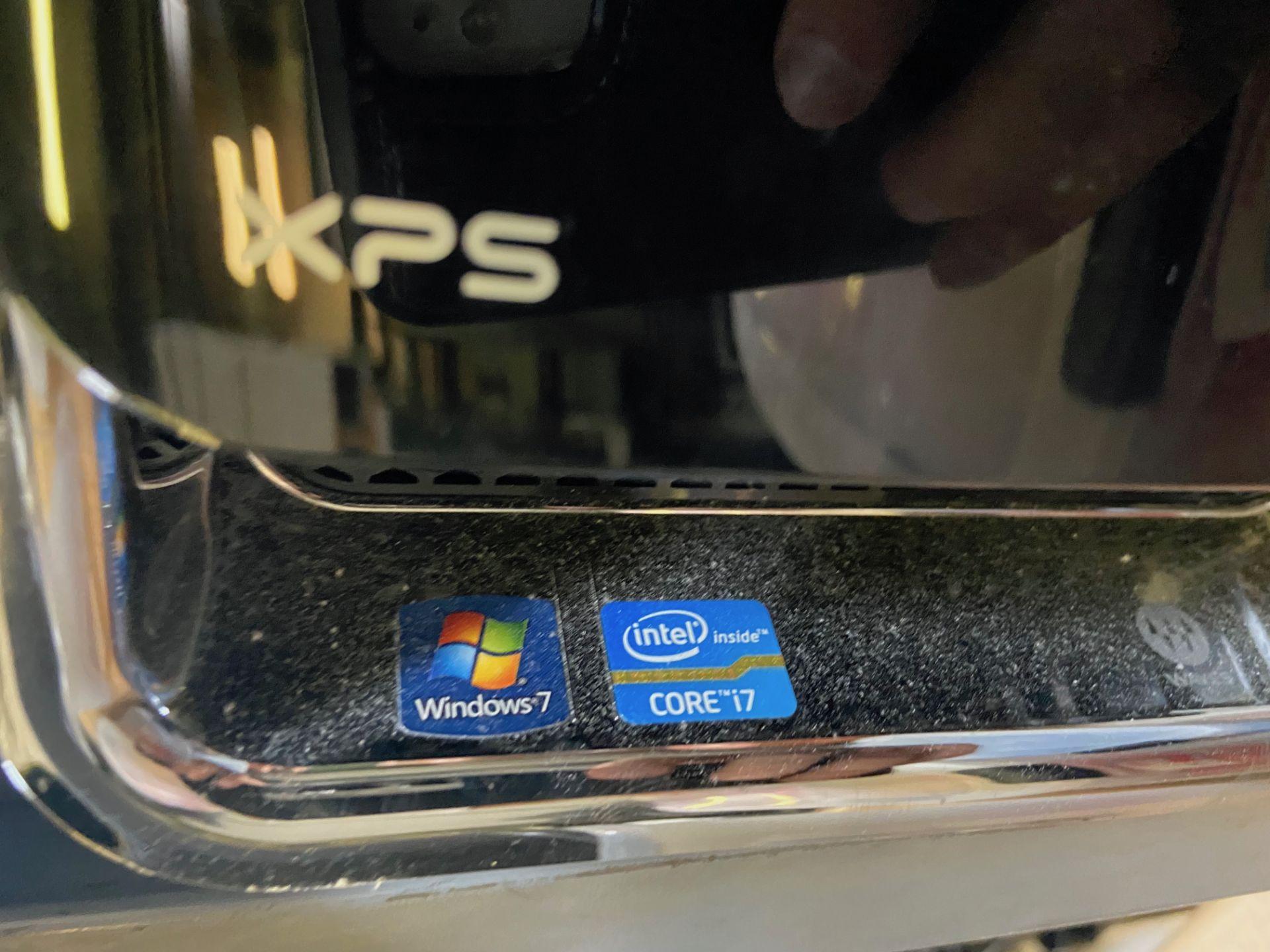 Dell XPS Desktop Computers, Total Qty 4, Qty 3 Intel i7 Processor, Qty 1 Intel i5 Processor, - Image 5 of 6