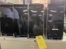 Dell XPS Desktop Computers, Total Qty 4, Qty 3 Intel i5 Processor, Qty 1 Intel i7 Processor,