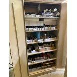 Cabinet and Contents (See Photos), Rigging Fee: $50
