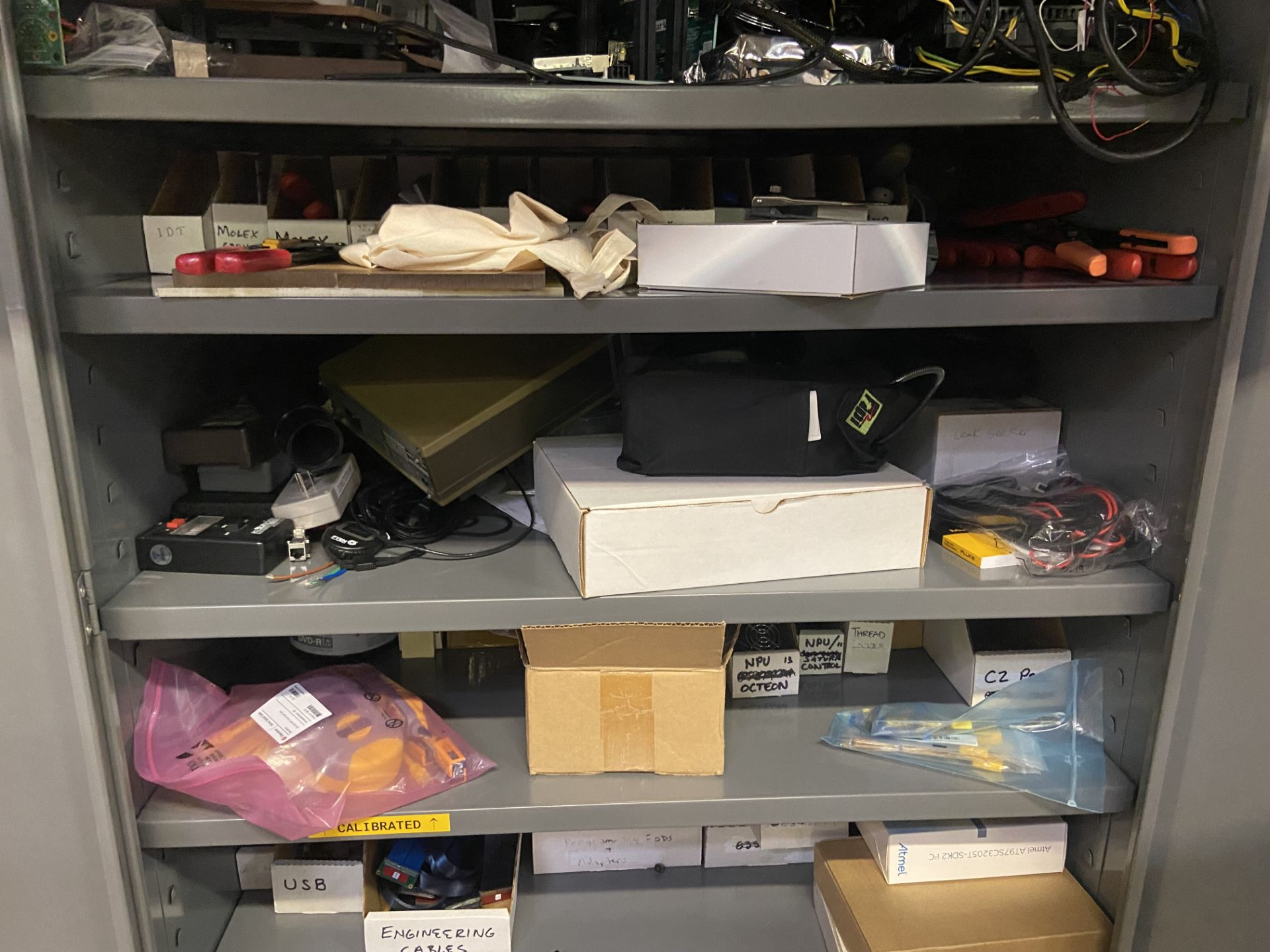 Cabinet and Contents (See Photos), Rigging Fee: $50 - Image 3 of 9