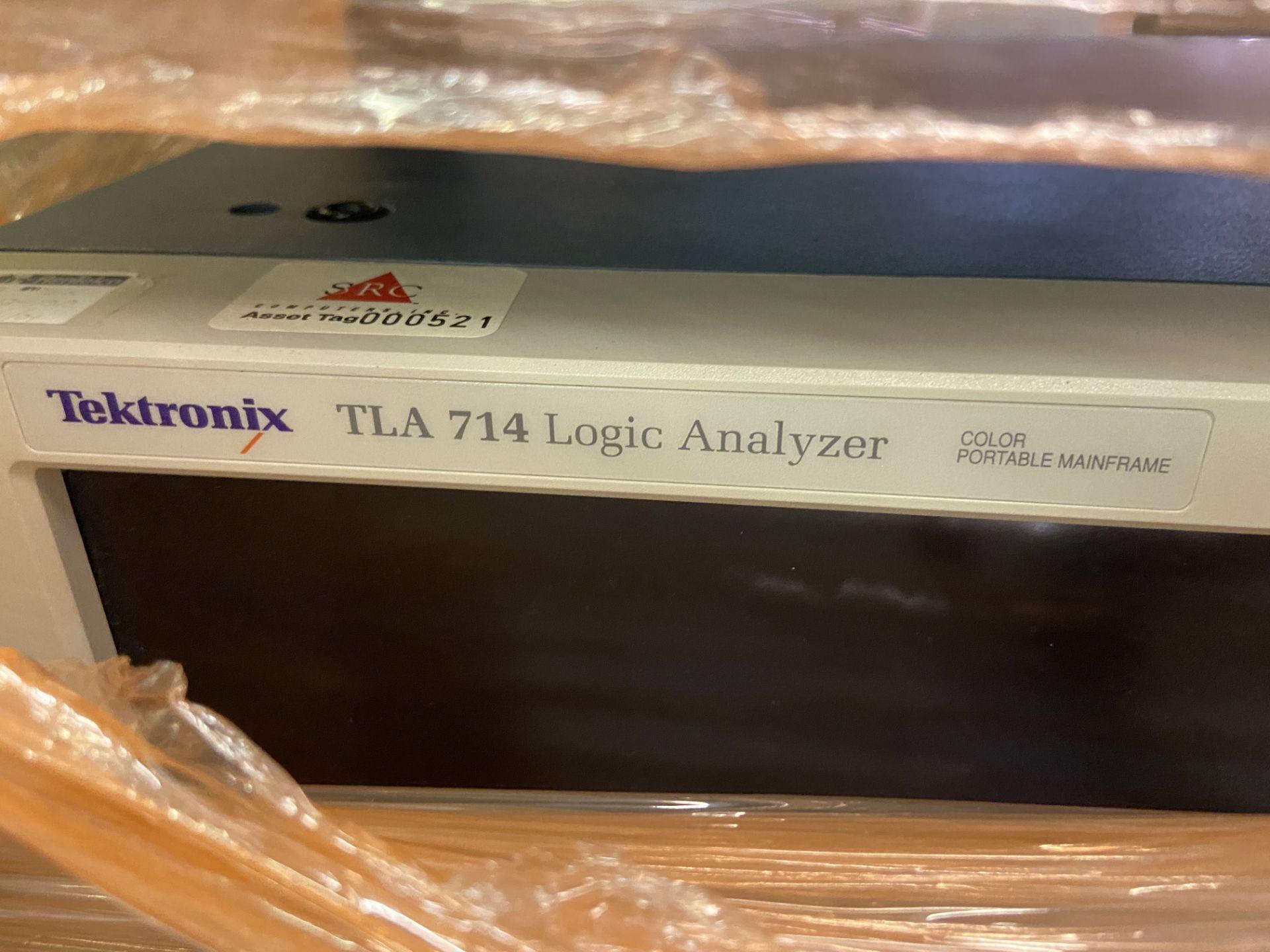 Tektronix TLA 714 Logic Analyzer, Rigging/ Loading Fee: $50