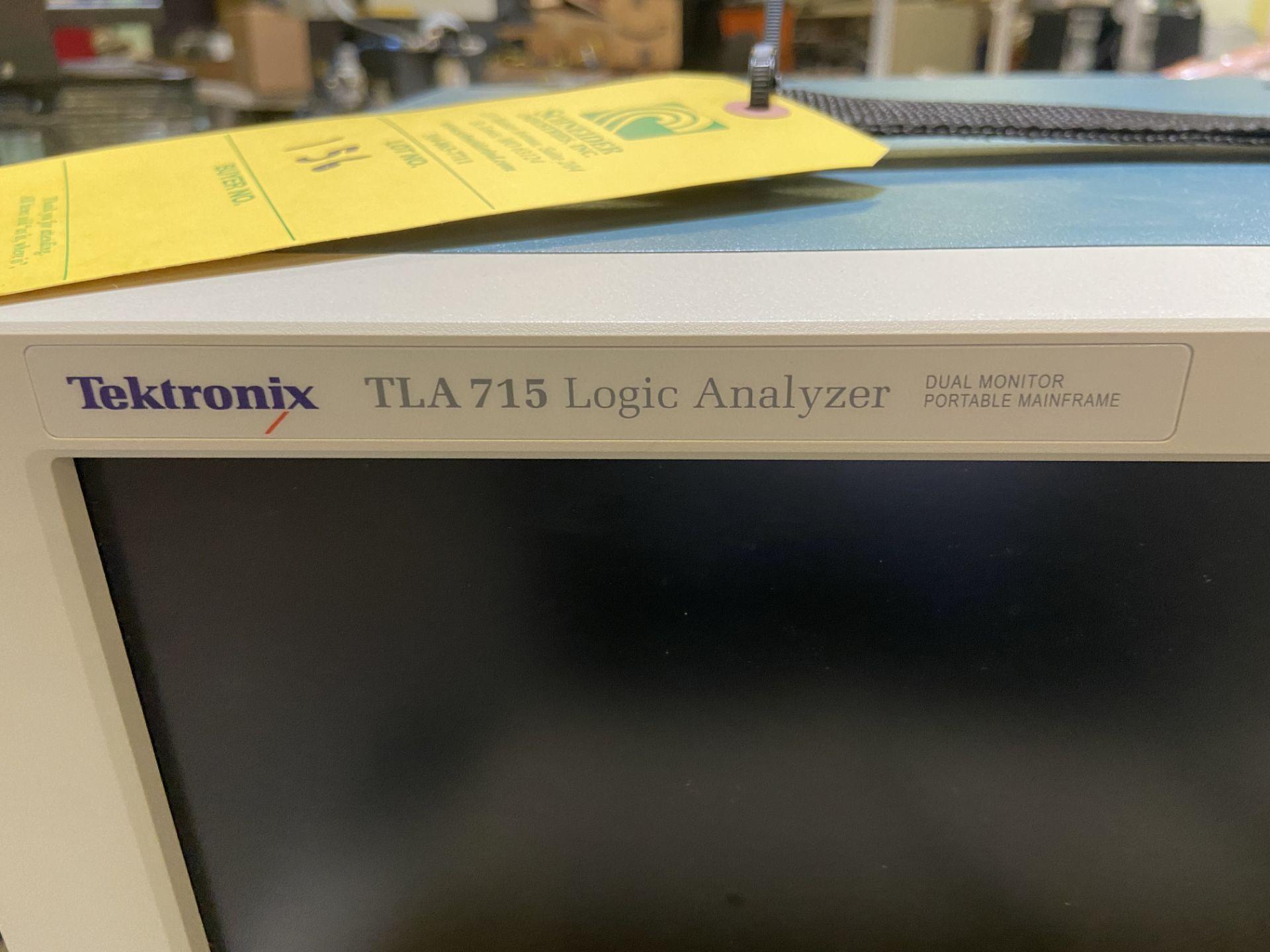 Tektronix TLA 715 Logic Analyzer, Rigging Fee: $50 - Image 3 of 10