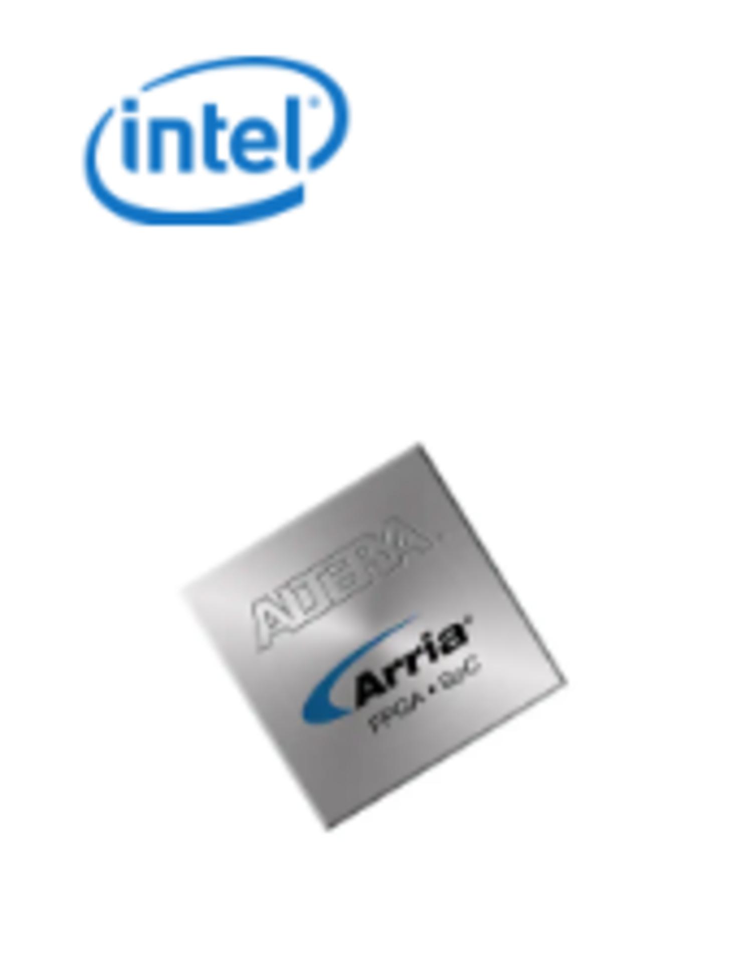 Intel 10AX115N1F45E1SG, QTY 48, FPGA Arria 10 GX Family 1150000 Cells 20nm Technology 0.
