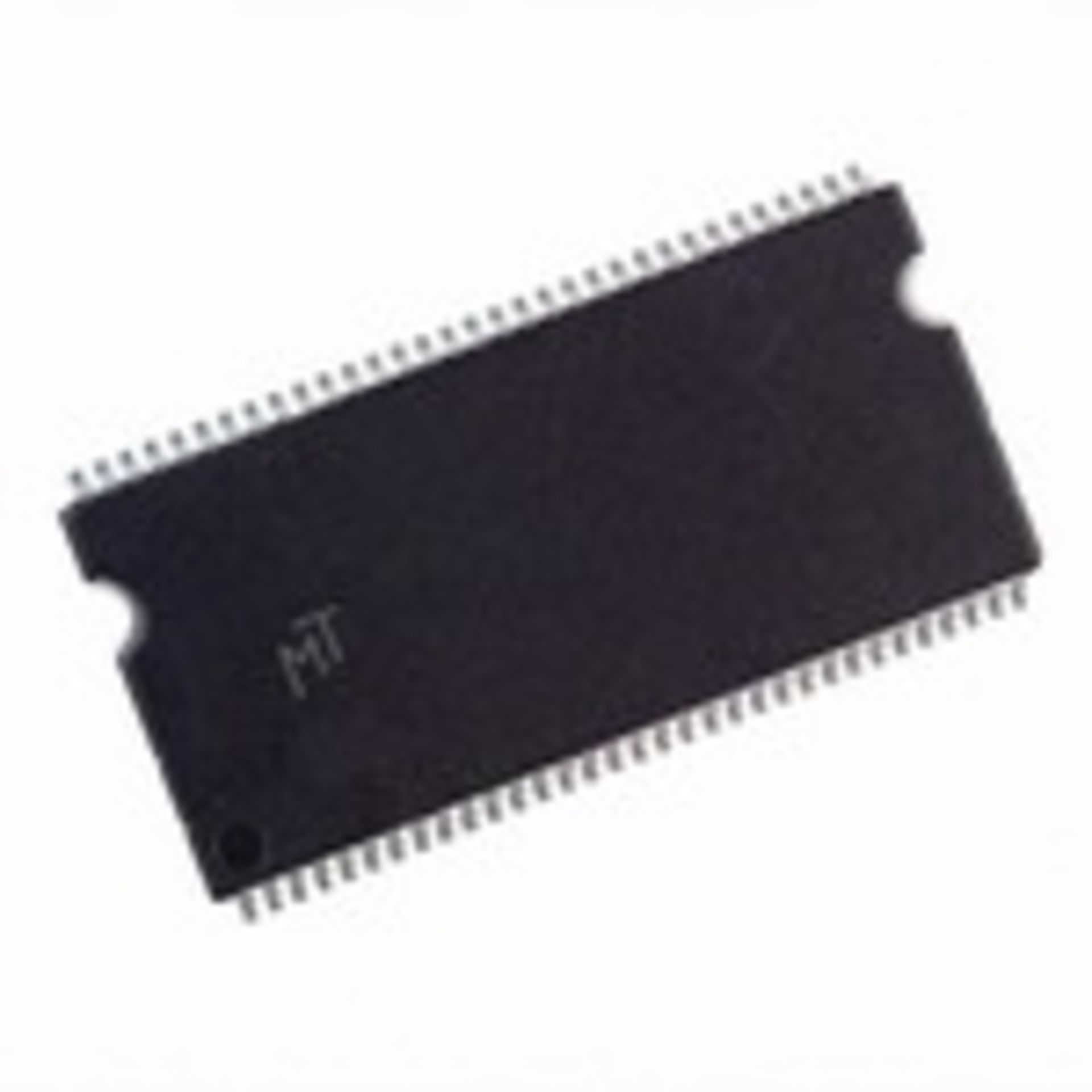 Micron Technology MT46V64M8TG-6T IT:F DRAM Chip, DDR SDRAM 512Mbit 64Mx8 2.5V 66-Pin TSOP Tray,