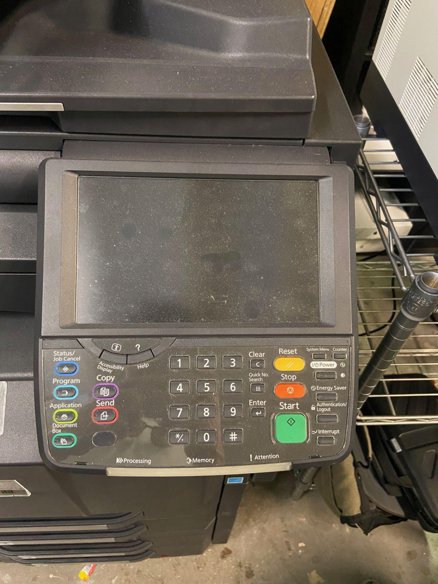 Kyocera TASKalfa 4500i Black and White Print/ Scan/ Copy System, Machine# NLS1900044, 120V, 60Hz, - Image 4 of 8