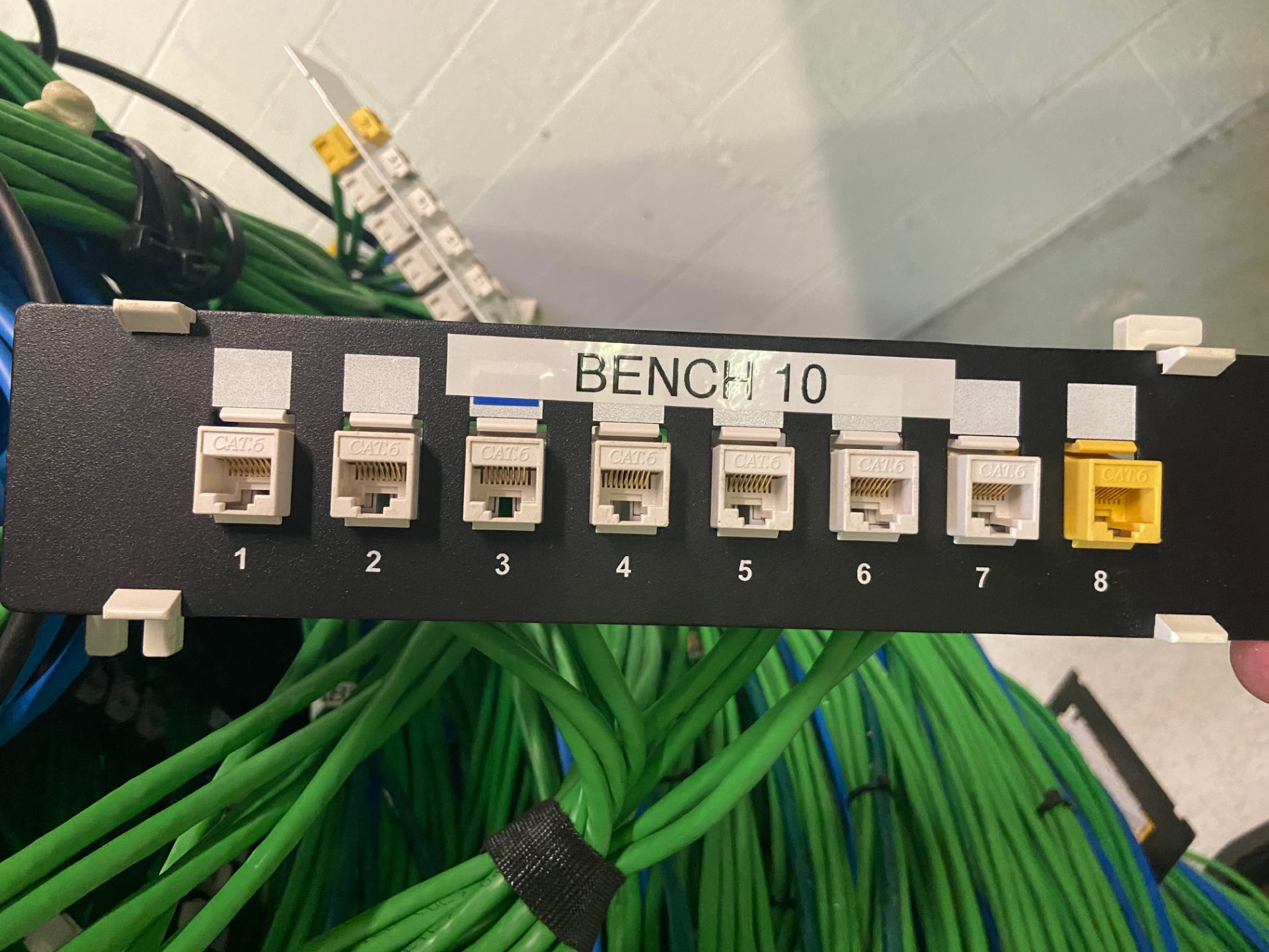 Lab Ethernet Connectivity Hub, SFP Interconnected, Qty 3: Cisco 52-Port Gigabit Stackable Manged - Image 7 of 12