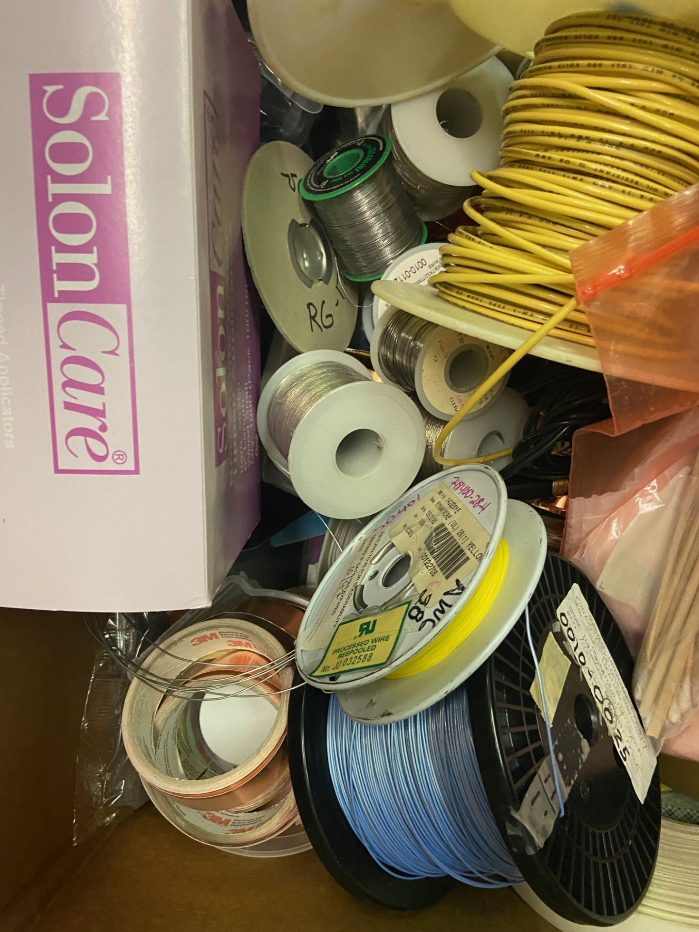 Qty 2 Boxes of Miscellaneous Soldering Lab Desk Items, Including: (SEE PHOTOS FOR ALL INCLUDED), - Image 8 of 12