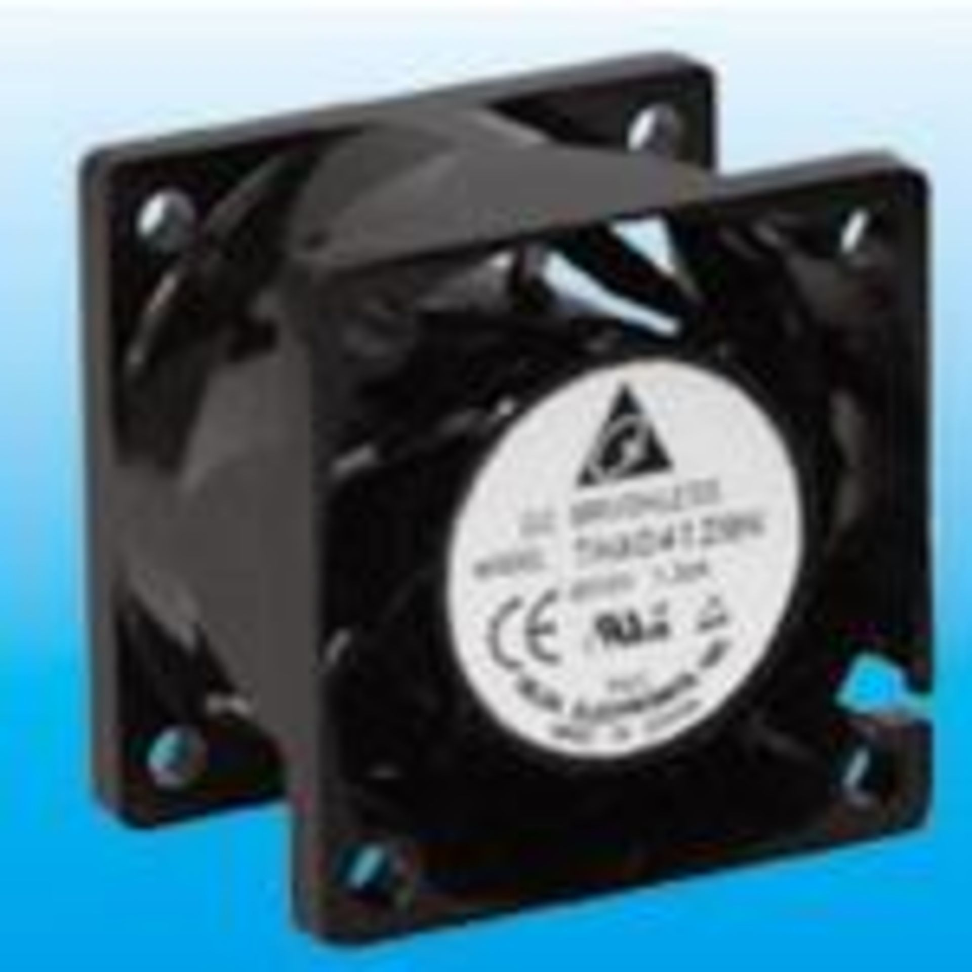 Delta Electronics THA0412BN, DC Fan Axial Ball Bearing 12V 7V to 13.2V 29.52CFM 59dB 40 X 40 X 28mm,