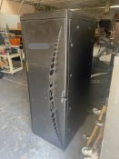 """Network Server Data Rack Enclosure Cabinet, 2' Wide x 33"""" Deep x 69"""" Tall, Loading/Removal Fee: $20"""