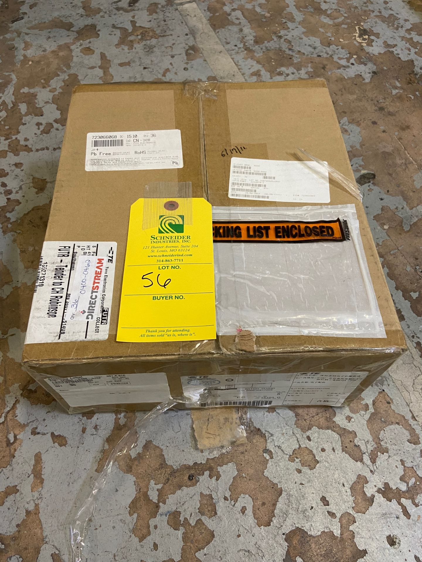 TE Connectivity 2214574-3, Connector Telephone and Telecom, Conn QSFP F 152 POS Press Fit RA Thru- - Image 2 of 7
