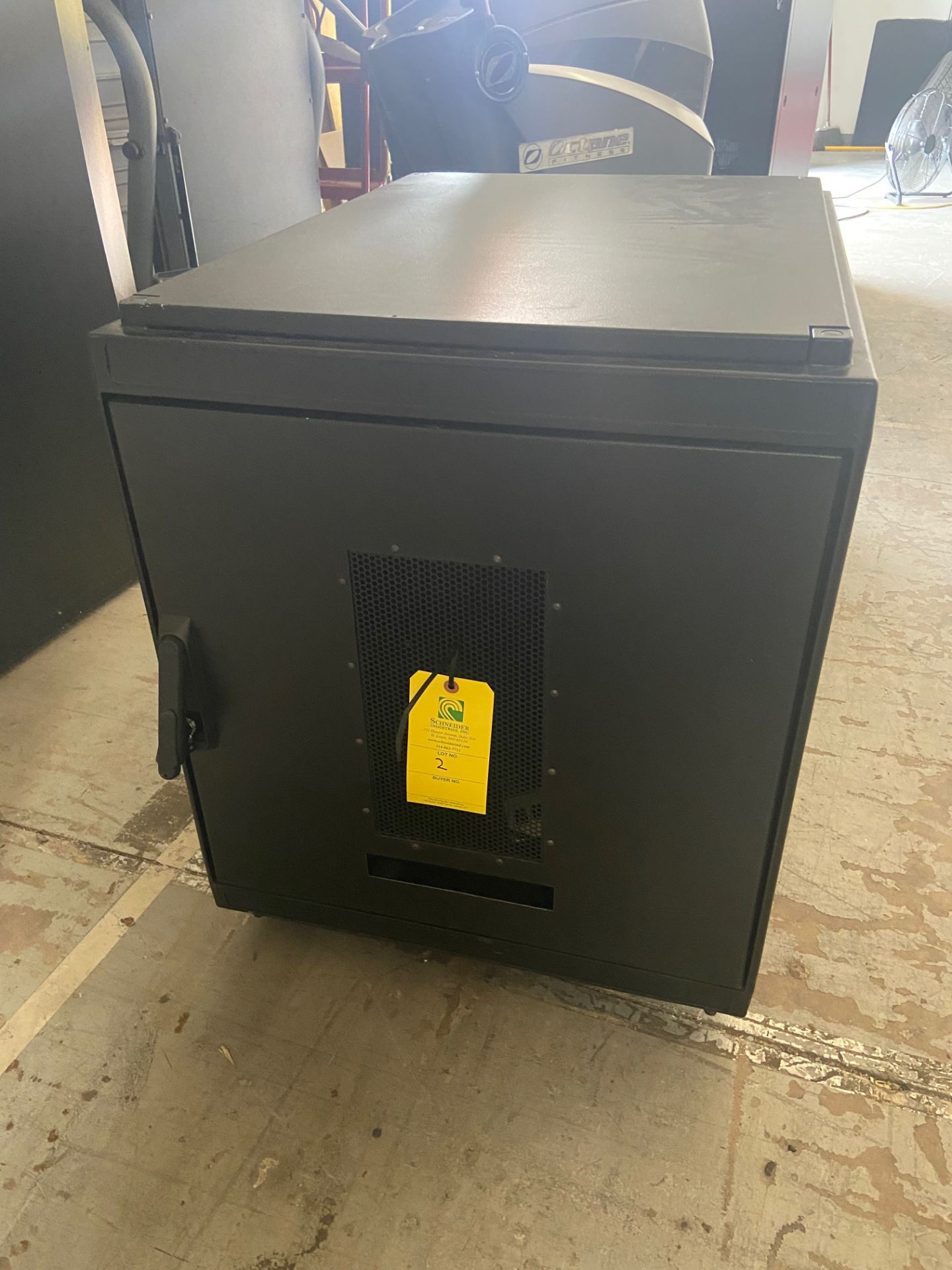 """Network Server Data Rack Enclosure Cabinet, 2' Wide x 33"""" Deep x 30"""" Tall, Loading/Removal Fee: $20 - Image 2 of 5"""