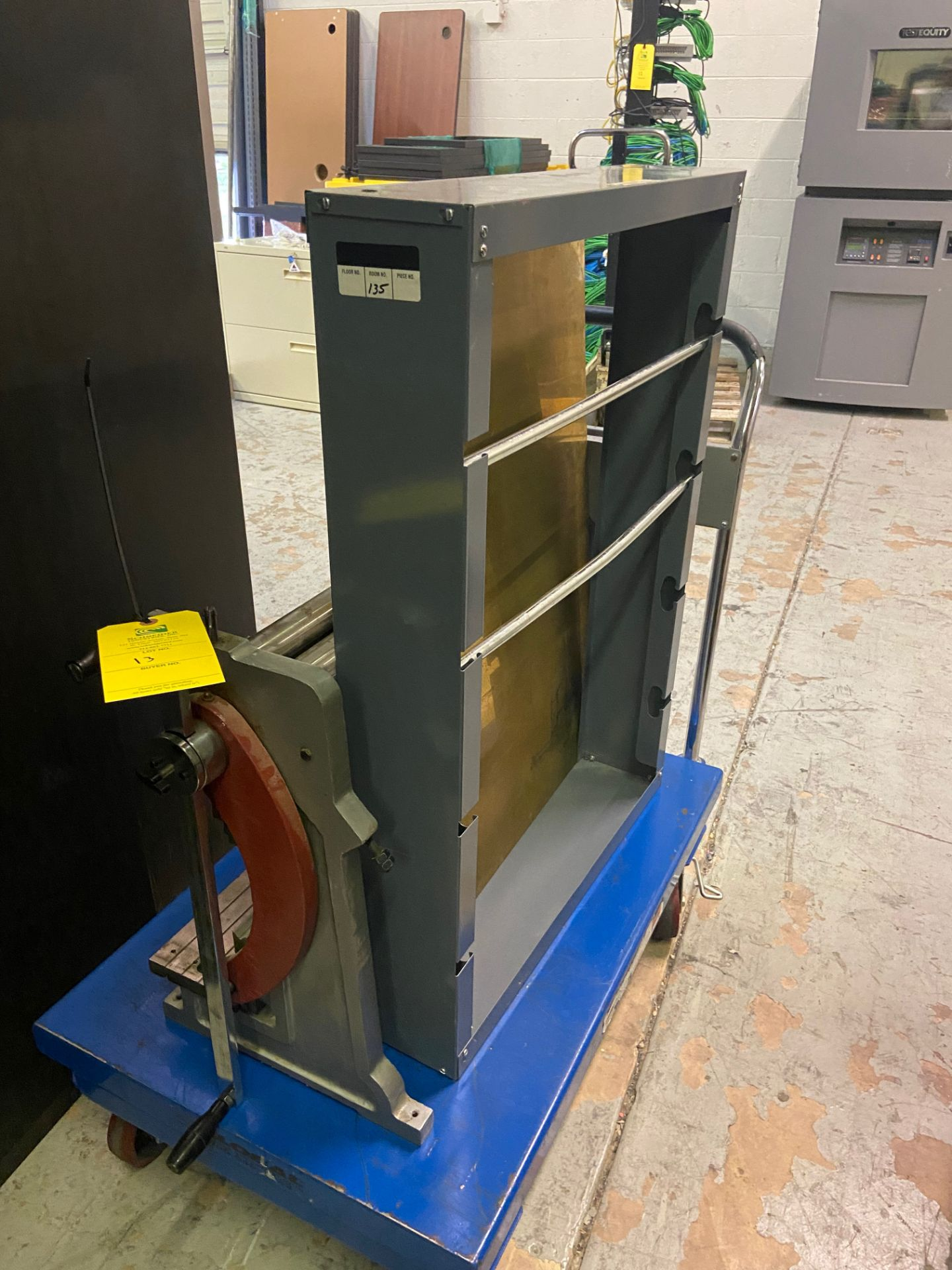 Durham Sheet Metal Brake/Bender, Model# WSR-4, Loading/Removal Fee: $20 - Image 3 of 5