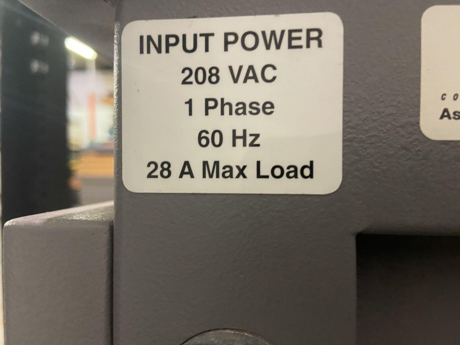 TestEquity Temperature Chamber, Model# 1007C, Serial# 10940, Temp Range: -75C to +175C, 208V, Single - Image 10 of 12